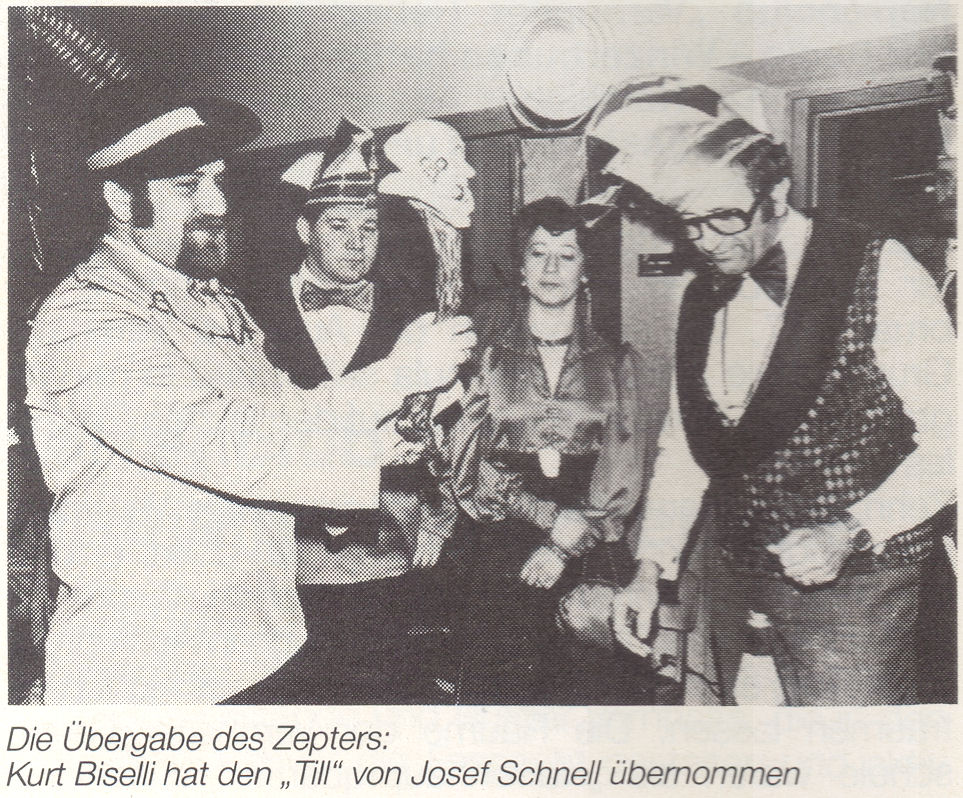 Zepterübernahme 1976
